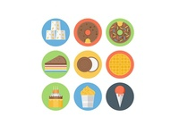 Funky Food Icons