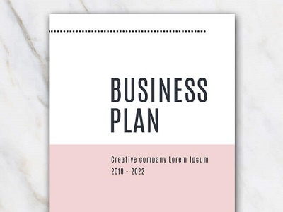 free creative business plan template by krafted dribbble dribbble