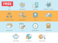 Free Fintech Icons
