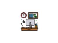 Office Life Icon