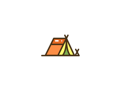 Camping Icon interest hobbies hobby camping tent camp