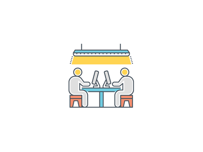 Office Icons coworking space workspace icon icons illustration vector work desk workers colleagues coworkers coworking icon set coworking icons coworking icon office icon set office icons office icon