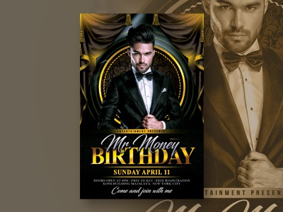 Bday Bash designs, themes, templates and downloadable graphic