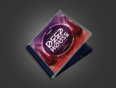 Deep House CD Cover Artwork