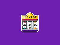 Jackpot sticker