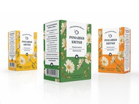 Packaging for Camomile Tea