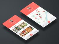 Book a Restaurant - Adobe XD