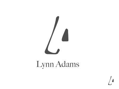 LA monogram logo