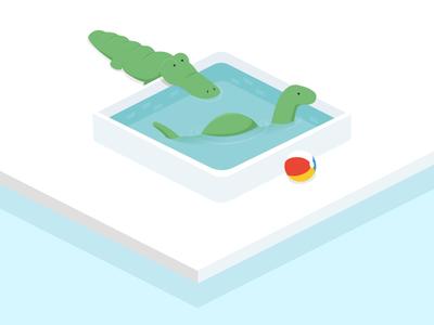 Dino Pool