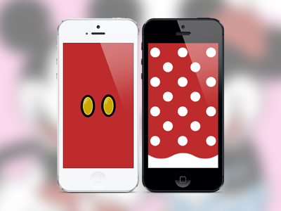 Mickey Minnie IPhone Wallpapers By Addison