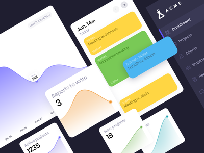 Dashboard and Icon Design Exploration ui design app dashboard chart digital experiment interface icon