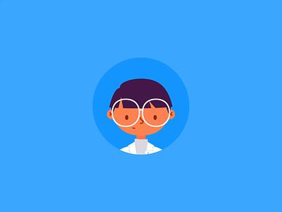 Pharmacist Icon app vector design lottie animation animation after effects branding icon illustration lottie