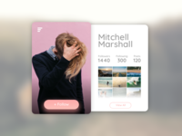 #006 - Profile Page for #DailyUI