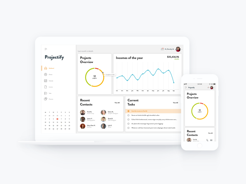 Projectify - A Simple Project Management Tool