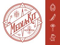 2013 Wisconsin Media Kit Logo & Icon Set