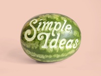 """Simple Ideas"" - Type Treatment for MIAD"