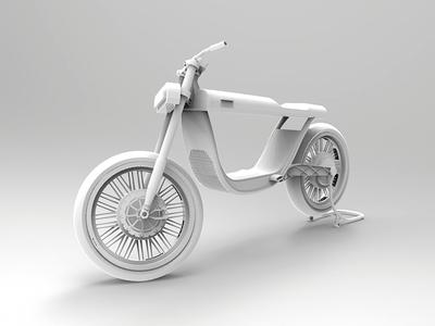 Concept modular electric bike.