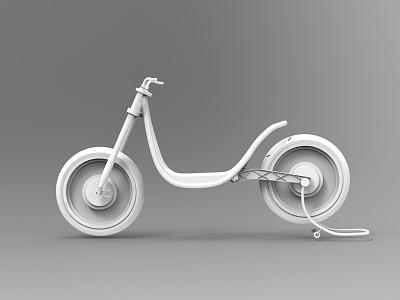 Concept modular electric bike #2 conceito motaeletrica modelar test trasnport moto industrial wip claymodel
