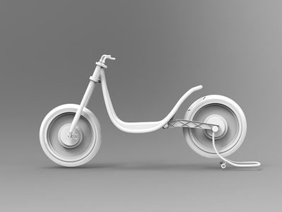 Concept modular electric bike #2