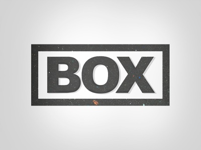 B O X  diogosoares comission test experiment gray logodesign design box
