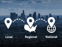 Local Regional National