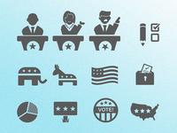 2016 Debate Icons