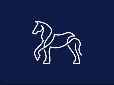 Horse Logo beauty logo horse race horse line logo line minimalist logo mustang logo horse logo line outline animal logo simple logo icon logo