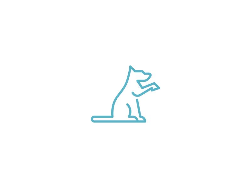 E Dog Academy Logo dog line line art puppy logo pet logo veterinary shelter good boy dog icon dog logo dog animal logo modern logo pictorial mark simple logo icon logo
