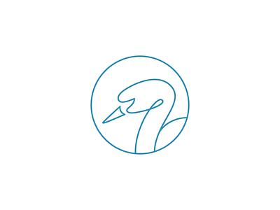 Swan Logo goose vector swan icon swan logo duck line goose line duck logo goose logo minimalist logo outline animal logo modern logo pictorial mark simple logo icon logo