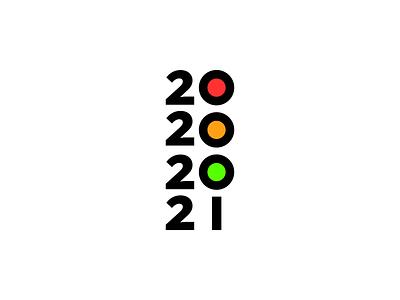 2020 2021 covid19 coronavirus traffic light logo ideas 2021 logo 2020 logo minimalist logo hidden message simple logo icon logo