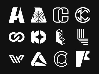 Logo Folio 2020 Vol. 06 lettermark f logo chat logo triangle logo w logo a logo k logo c logo monogram logo monogram modern logo pictorial mark simple logo icon logo