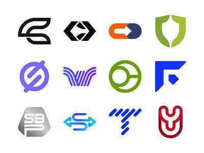 Logo Folio 2020 Vol. 15 abstract logo symbol yu logo uy logo y logo t logo f logo w logo s logo shield logo arrow logo cd logo c logo modern logo pictorial mark simple logo icon logo