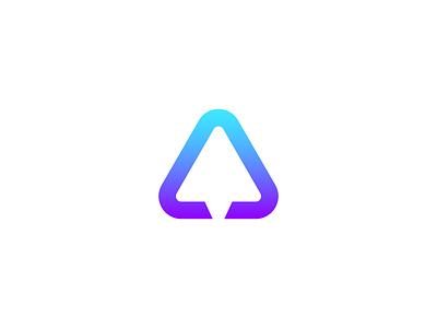 Paper Plane Logo triangle logo telegram logo message logo chat logo messenger logo paper plane logo a letter logo a logo negative space logo modern logo pictorial mark simple logo icon logo