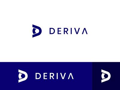 D Logo negative space logo minimalist logo d letter logo d logo modern logo pictorial mark simple logo icon logo