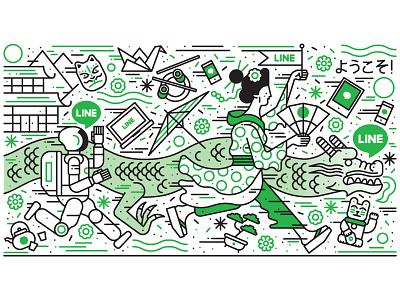 Dezeen  vector illustration editorial illustration character design vector illustration