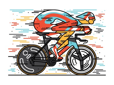 Spin Cycling Festival vector vector illustration character design bicycle illustration illustration