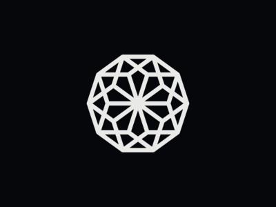 WW043 - Polygon Logo 3 icon logo designer minimalist logo logo design symbol brand identity branding logo startup logo tech logo polygon logo mandala abstract logo