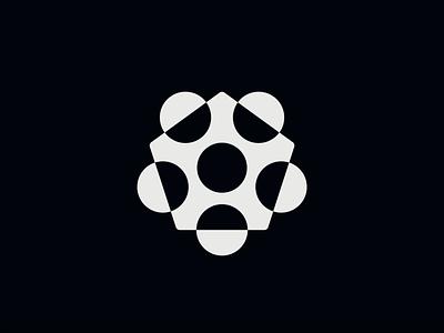 WW045 - Polygon Logo 5 icon logo designer logo design brand identity branding logotype logo pentagon hexagon abstract logo meeting logo startup logo tech logo saas logo