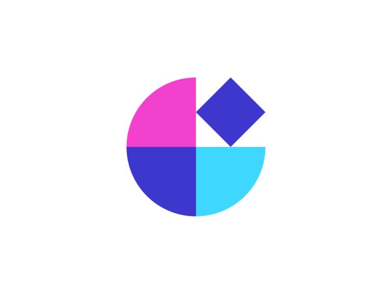 WW047 - Building Blocks Logo logo design business logo brand identity branding logotype logo abstract logo minimal simple logo startup logo tech logo startup tech saas project management