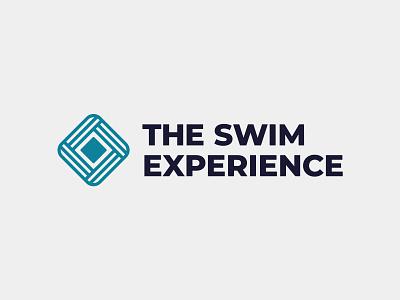 The Swim Experience - Logo Design abstract logo icon logo designer symbol logo design branding logotype brand identity logo swim school swim school logo swimming logo