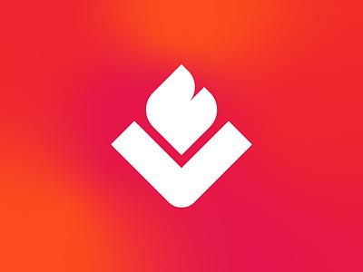 Vapory Shop - Logo Design symbol visual identity identity logo designer logo design logotype brand identity logo flame logo letter logo v logo letter v logo vaping logo vape logo