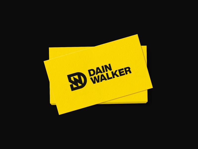 Dain Walker - Visual Identity Design logotype logo designer logo design branding logo pitchdeck design tshirt design business card design brand identity visual identity entrepreneur logo entrepreneur dw letter logo dw letter logo