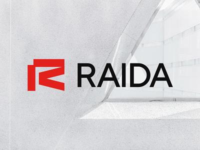 Raida Architects - Letter R Logo Design identity symbol logo designer logo design branding brand identity logo r logo letter logo letter r logo architect brand identity architect branding architecture logo architect logo