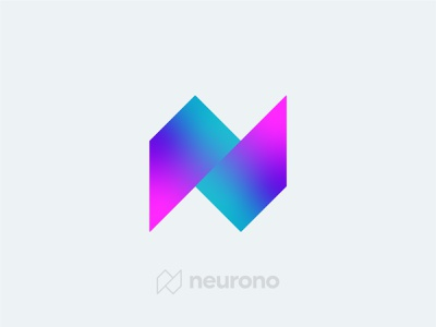 Neurono - Letter N Logo Design identity logo designer logo design logotype branding brand identity logo n letter n gradient logo tech logo startup logo letter logo letter n logo