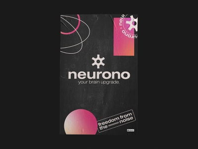 Neurono - Poster and Packaging Design identity logo designer logo design branding logotype brand identity app logo tech logo startup logo abstract logo print design poster tech brand startup brand poster design