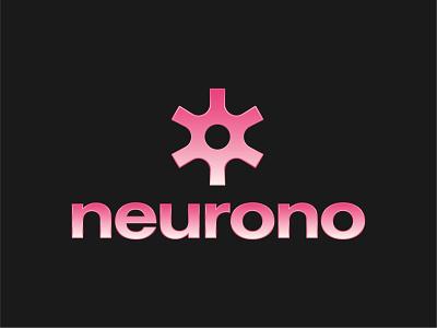 Neurono - Chrome Abstract Logo Design neuron logo logo designer logo design branding logo visual identity brand identity tech brand app logo tech logo startup brand startup logo abstract logo chrome design chrome logo chrome