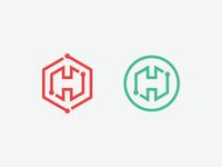 Cyber Security Logo - Hexle
