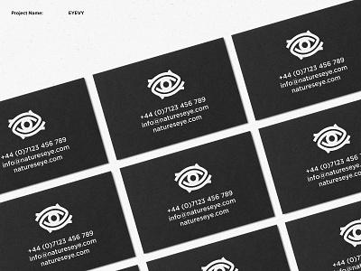 EYEVY 3 mockup logo designer uk logo designer brand designer branding nature logo eye logo minimal logo logo design photography logo business card design