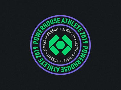 Powerhouse - Logo Badge cannabis cannabis branding cbd oil cbd hemp cannabis logo sports logo badge design minimal logo design brand identity icon symbol logotype branding logo