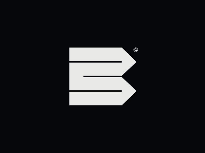 WW002 - Letter B Construction Logo construction letter b startup logo tech logo construction logo b letter b logo letter b logo design logos design brand identity mark icon symbol logotype branding logo